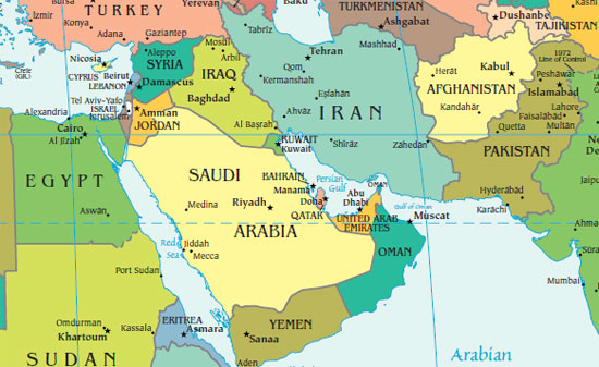 Jordan River Middle East Map.Middle East Perspectives Rick Francona