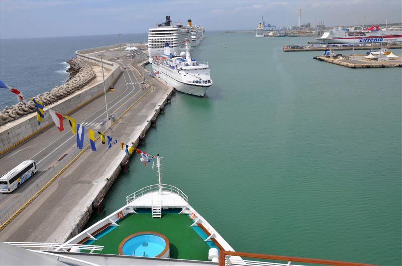 Italy 1982 2015 - Port of civitavecchia cruise terminal ...